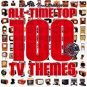all-time top 100 TV themes CD 2-discs 2005 TVT used mint