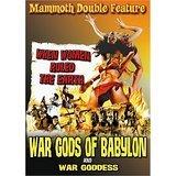 war gods of babylon + war goddess DVD 2006 retromedia 180 minutes used mint