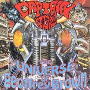 captain sensible - universe of geoffrey brown CD humbug 11 tracks used