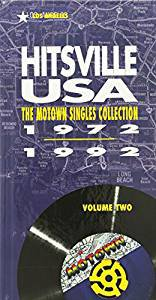 hitsville USA volume 2 - motown singles collection 1972 - 1992 CD 4-disc boxset 1993 motown new