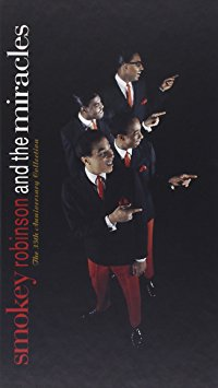 smokey robinson and the miracles - 35th anniversary collection CD 4-disc boxset 1994 motown mint