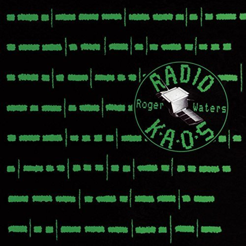roger waters - radio kaos CD 1987 original sound EMI 8 tracks used mint