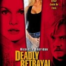 deadly betrayal starring nicolette sheridan DVD 2003 hearst active 92 minutes used mint