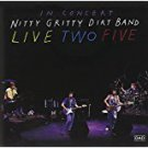 nitty gritty dirt band - in concert live two five CD 1991 capitol 16 tracks used mint49.95