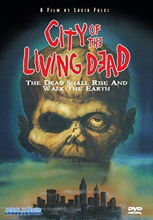 city of the living dead - by lucio fungi starring christopher george DVD 2007 blue underground NR