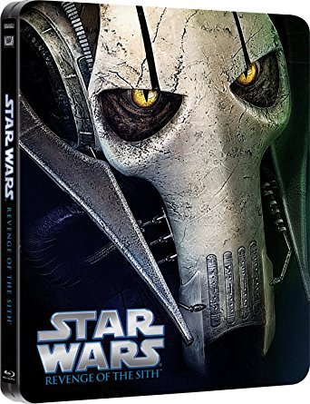 star wars - revenge of the sith BLURAY steelbook used
