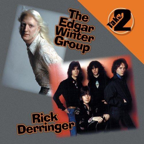 edgar winter group + rick derringer - take 2 CD 2002 sony 10 tracks used mint