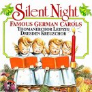 silent night - famous german carols CD 1990 delta 25 tracks used mint