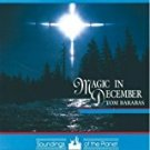 tom barabas - magic in december CD 1991  soundings of the planet 8 tracks used mint