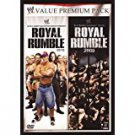 WWE royal rumble 2009 + 2010  DVD 2-disc value premium pack 2010 used mint