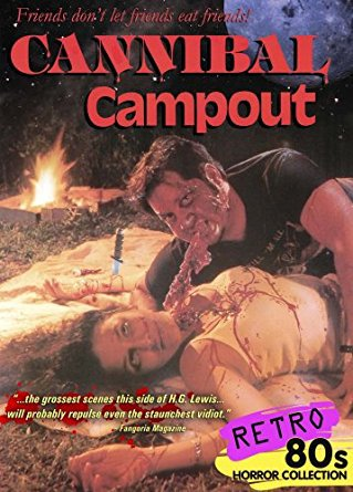 cannibal campout - jon mcbride + amy chludzinski DVD 2007 camp motion pictures used mint