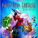 fantasia + fantasia 2000 2-movie collection DVD 2-disc special edition 2010 disney used mint