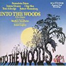 into the woods - original cast recording CD 1987 RCA used mint
