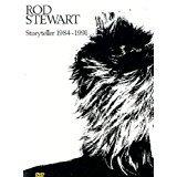 rod stewart - storyteller 1984 - 1991 DVD 1991 warner 60 minutes 12 tracks used mint