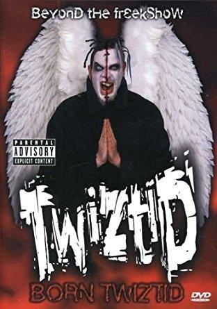 twiztid - born twiztid - beyond the freakshow DVD 2001 island def jam used mint