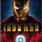 iron man - ultimate 2-disc edition bluray 2008 125 mins PG-13 used mint