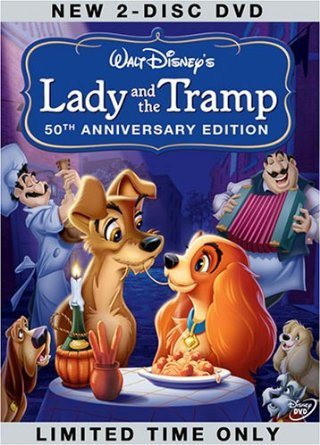 disney's lady and the tramp - 50th anniversary platinum edition DVD 2-discs 2006 new