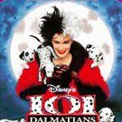 101 dalmatians - glenn close DVD 2000 disney 103 minutes used mint