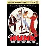 hunk - john allen nelson + steve levitt DVD 2006 BCI 102 mins used mint