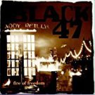 black 47 - fire of freedom CD 1993 SBK EMI 14 tracks used mint