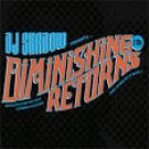 dj shadow presents diminishing returns CD 2-discs 2009 reconstruction used mint