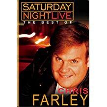 saturday night live - best of chris farley DVD 2003 NBC 61 minutes new