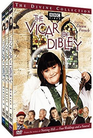 vicar of dibley the divine collection starring dawn french DVD 3-disc set 2003 BBC used mint