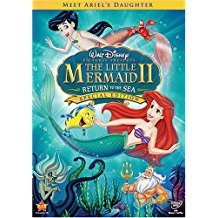 little mermaid II return to the sea - special edition DVD disney 2008 used 75 minutes