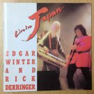 edgar winter and rick derringer - live in japan CD 1990 cypress 13 tracks used mint