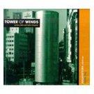 savvas ysatis and taylor deupree - tower of winds CD caipirinha music 11 tracks used mint