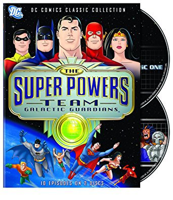 super powers team - galactic guardians complete season 10 episodes on 2 DVDs 2007 Hanna-Barbera used