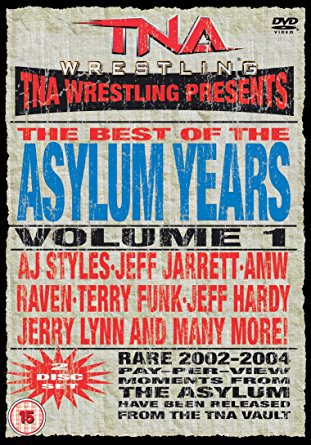 TNA Wrestling - The Best of the Asylum Years Vol. 1 DVD 2-discs 2010 used mint