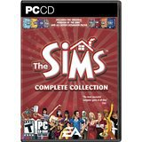 the sims - complete collection - PC CD 2005 electronic arts 4-discs used