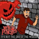 with the punches - it's not the end of the world CD EP 2011 used mint