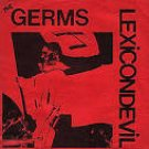 "germs - lexicondevil 7"" colored vinyl RSD 2017 blank record new factory-sealed"