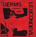 """germs - lexicondevil 7"""" colored vinyl RSD 2017 blank record new factory-sealed"""
