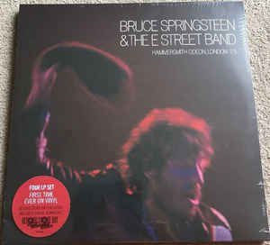 bruce springsteen - hammersmith odeon london '75 4LP RSD 2017 columbia new sealed