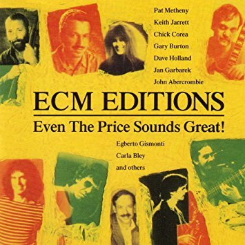 ECM editions - even the price sounds great! CD 1991 ECM 15 tracks used mint