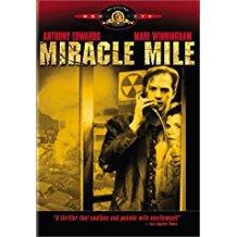 miracle mile - anthony edwards + mare winningham DVD 1989 2003 MGM 87 mins used mint