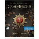 game of thrones - king's landing - season 2 bluray 5-discs steelbook 2015 HBO used mint