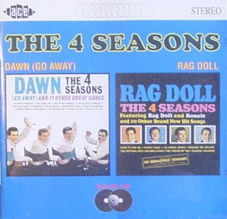 4 seasons - dawn (go away) + rag doll CD 1994 ace 24 tracks used mint