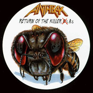 anthrax - return of the killer A's CD 1999 beyond BMG 16 tracks used mint