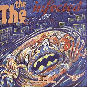 the the - infected CD 1986 CBS epic 8 tracks used mint