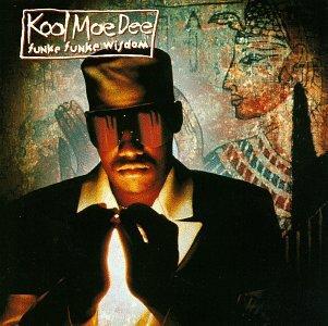 kool moe dee - funke funke wisdom CD 1991 zomba RCA 14 tracks used mint