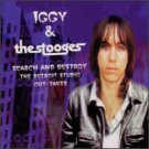 iggy pop & the stoogies - search and destroy the detroit studio out-takes collectors gold CD 1999