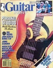 guitar player megazine December 1985 used mint