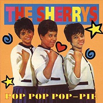 sherrys - pop pop pop pie CD 1996 bear family 20 tracks used mint