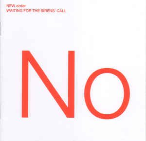 new order - waiting for the sirens' call CD 2005 london warner used mint