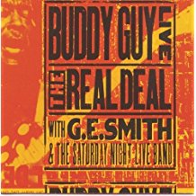 buddy guy live - the real deal with G.E. smith CD 1996 silvertone 9 tracks used mint