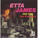 etta james - live from san francisco CD 1994 private on the spot 8 tracks used mint